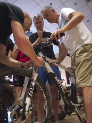 Bikes zusammenbauen - manchmal ein Mysterium