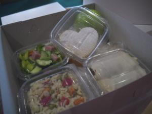 Lunchpaket auf georgisch