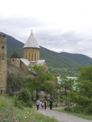Unterwegs im Norden von Tiflis
