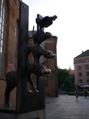 Die Bremer Stadtmusikanten in Riga?