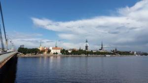 Ein letzter Blick auf die Stadt