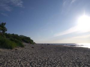 Der Strand von Selengradsk