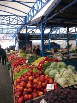 Markt von Pila