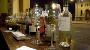 Weindegustation mit urugayischen Weinen. Fazit: Wir kommen wieder.