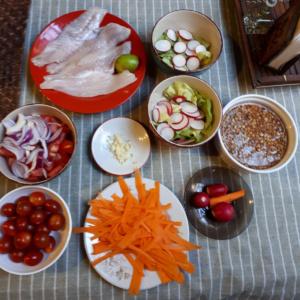 Kochen in der Posada