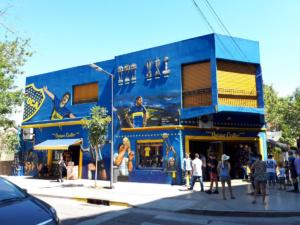 Im Stadtteil La Boca in Buenos Aires