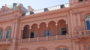 Der berühmte Balkon von Evita