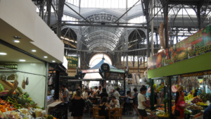 Mercado in San Telmo, der Altstadt in Buenos Aires