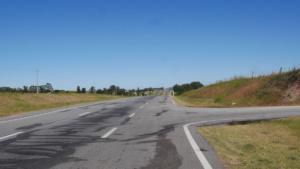 Die Ruta 1 - 180 km Autobahn,