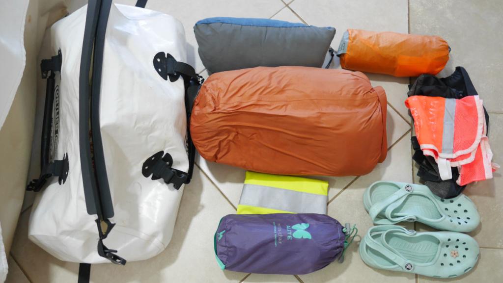 Rackpack / Rolle hinten drauf