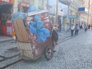 Müllabfuhr auf Brasilianisch