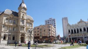 In der Altstadt von Curitiba