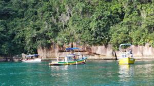 Touritag auf dem Wasser