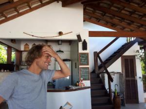 Björn, unser sympathischer Gastgeber in Parati