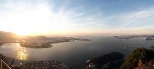 Panoramabild Rio de Janeiro