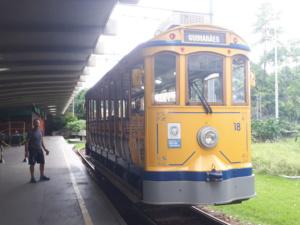 Die historische Bahn nach Santa Teresa