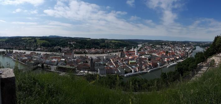 Panoramabild Passau