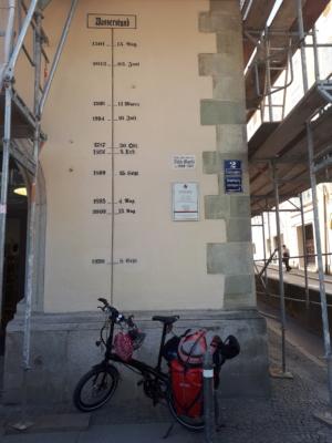 Bewegte Hochwassergeschichte von Passau