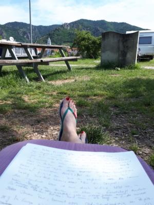 Reisebericht schreiben - Oldschool